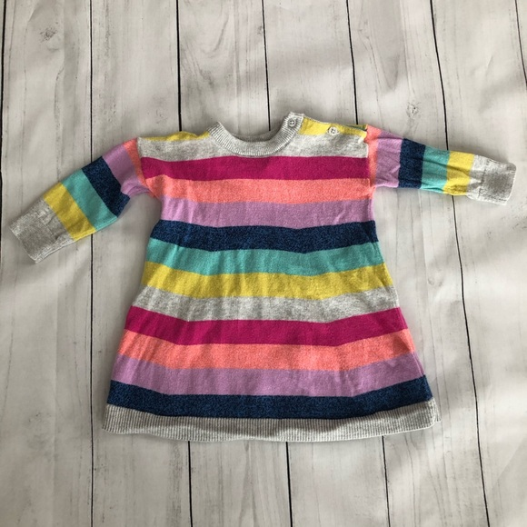 GAP Other - baby GAP Striped Sweater Knit Dress, 3-6 months